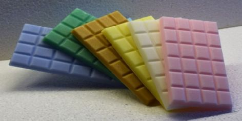 Any SIX Handmade Highly Scented Wax Melt Bars for £16.50